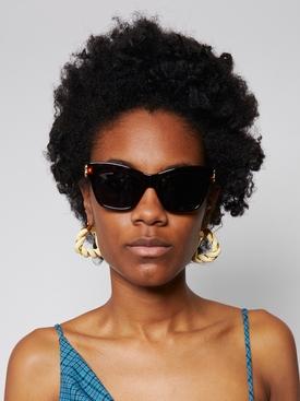 Cat eye sunglasses, havana brown