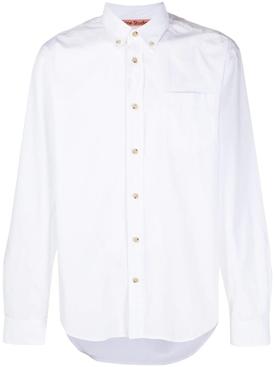 Button up shirt, white