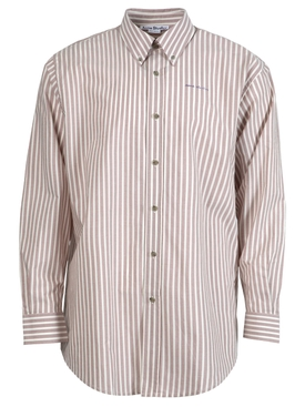 Classic Striped Button Down Shirt OLD PINK