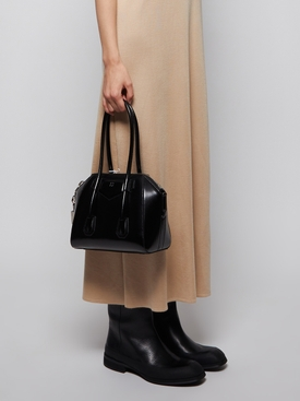 Mini Antigona Lock Bag BLACK