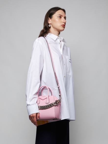 Givenchy Antigona Mini Bag, Baby Pink