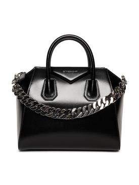 Small Antigona Bag with metal chain strap