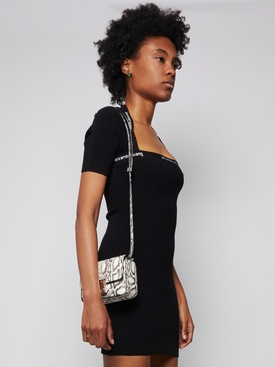 Small 4G Crossbody Bag WHITE AND BLACK