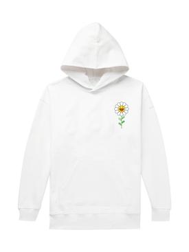 Blanco Flower Hoodie