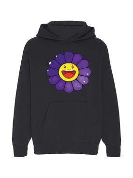 Morado Large Flower Hoodie