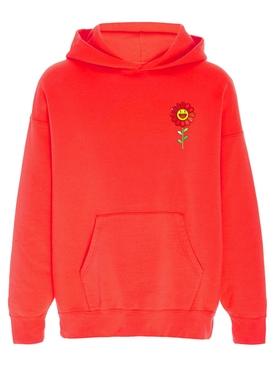 Rojo Flower Hoodie