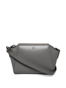Nano Antigona Crossbody bag medium grey