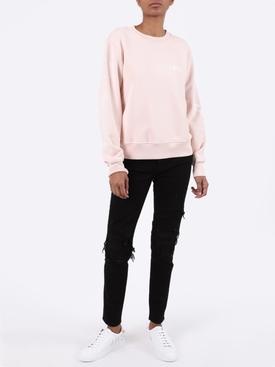 Pink Reverse Low Top Sneakers