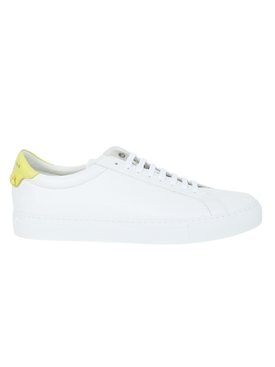 White and yellow Urban Street sneakers