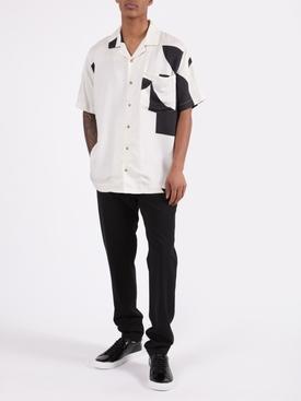Black Croc Embossed Urban Street Sneaker