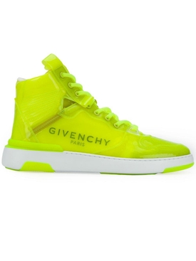 Fluorescent Yellow Wing sneakers