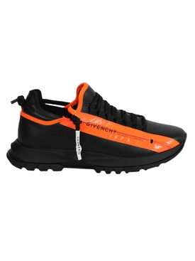 Spectre Sneaker, Black and orange