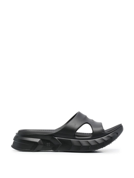 Marshmallow Sandals Black