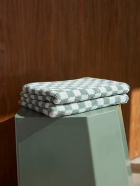 Josephine Hand Towel, Sage & Chalk