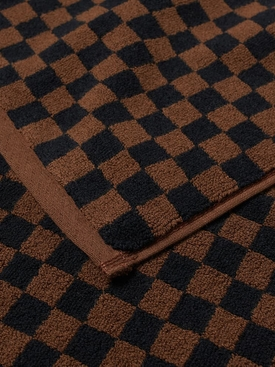 Josephine Hand Towel Tabac And Noir Tabac and Noir