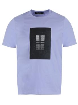 Artwork in Progress t-shirt PURPLE