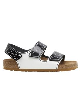 Birkenstock X Proenza Schouler Milano Sandal Black and White