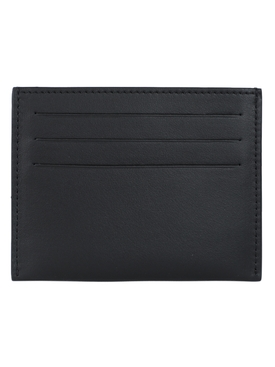 Black Glitch logo card holder