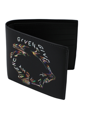 Black Glitch logo wallet