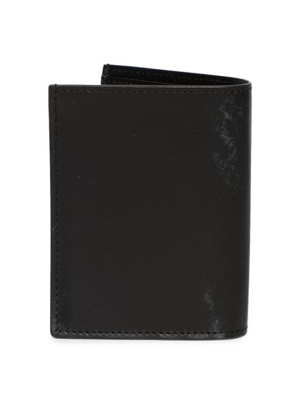 Givenchy Illusion Stitch Bi-fold Card Holder Black