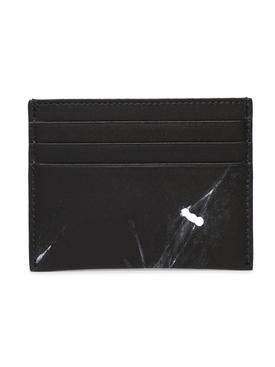Illusion Stitch Card Holder Black