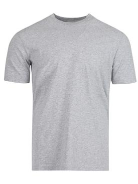 Classic High Neck T-Shirt, GREY