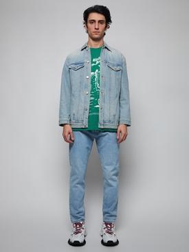 Beni Bischof Print T-Shirt, EMERALD GREEN