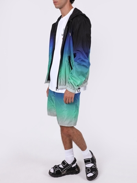 Gradient windbreaker jacket