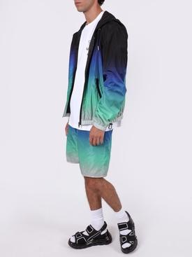 Gradient windbreaker jacket