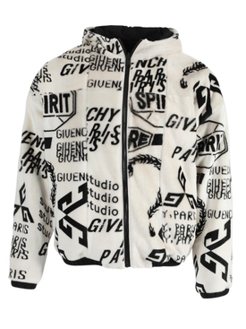 Givenchy - Reversible Zip-up Logo Hoodie - Men