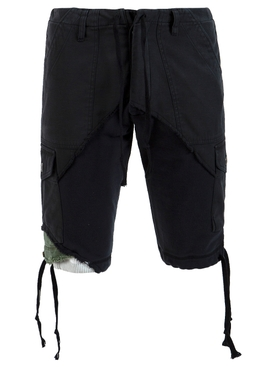 FRAGMENT CARGO SHORT, BLACK