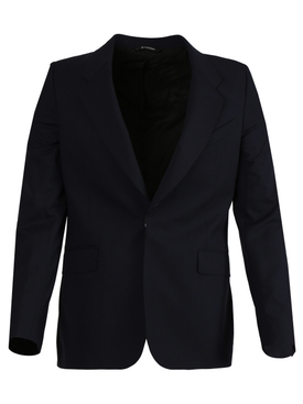 Slim Fit Wool Jacket DARK NAVY