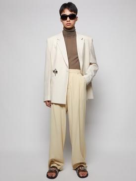 Lightweight Wool Slim Fit Padlock Jacket