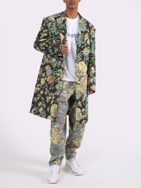 Floral Multicolored Cargo Pants