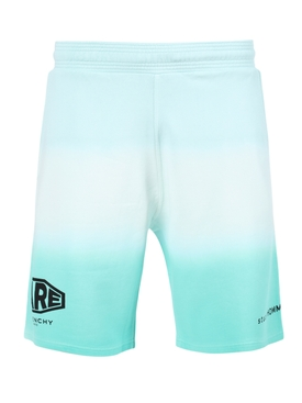 Dip-dye shorts MINT GREEN