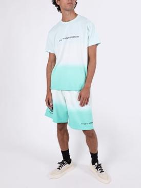 Dip-dye shorts MINT GREEN