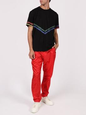Tonal Logo Print Trousers VERMILLION RED