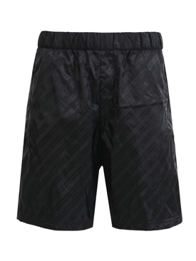 Tonal Logo Print Shorts