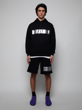 Latex band shorts BLACK
