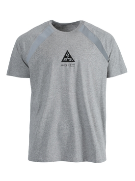 Grey Triangle Logo T-Shirt