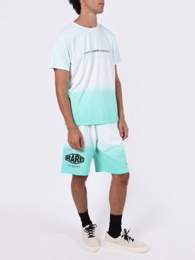 Gradient studio logo t-shirt MINT GREEN