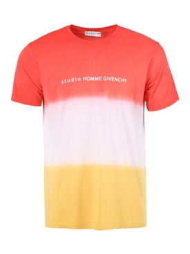 Gradient studio logo t-shirt ORANGE