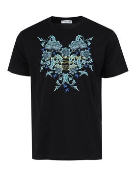 Floral studio logo t-shirt