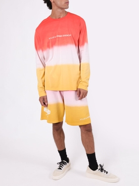 Gradient long-sleeve t-shirt