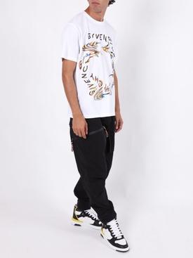 Glitch Logo t-shirt WHITE