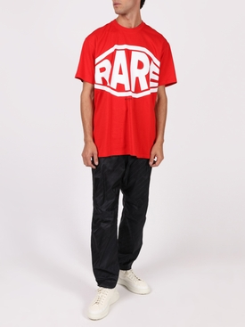 Rare Logo Cotton T-shirt VERMILLION RED