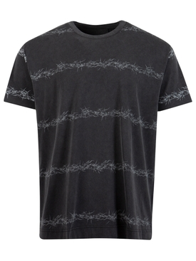 Oversized C&S Barbed Wire Tee Black