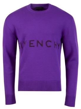7GG Classic Merino Wool Sweater Purple