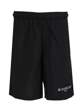 Long bermuda swim shorts BLACK