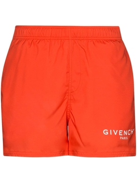 Bright Red Swim Trunks